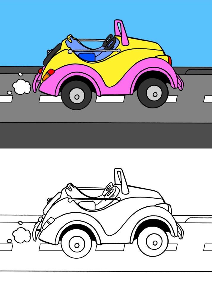 La coccinelle - Dessin coccinelle voiture ...